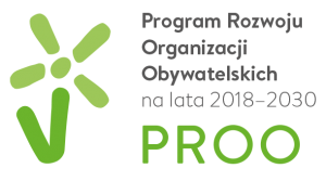 Logo Programu Rozwoju Organizacji Obywatelskich